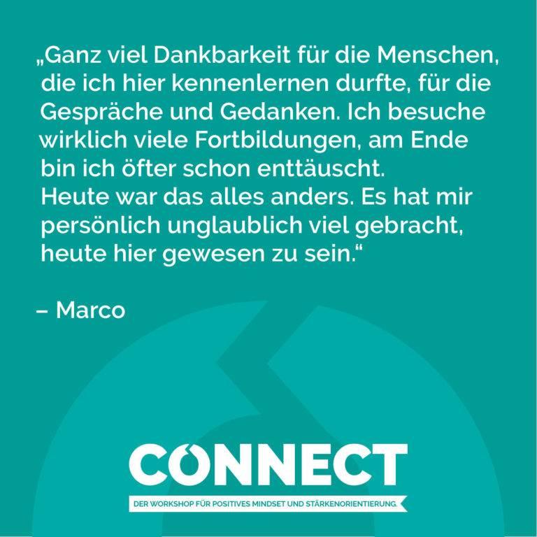Was Wäre Wenn - Positive Psychologie und Coaching - Michael Tomoff - Connect Verbundenheit Zitat 40